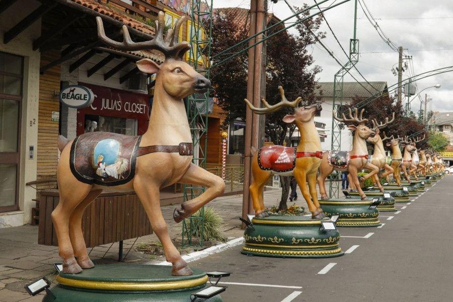 Rua das Renas é atração do 35º Natal Luz de Gramado