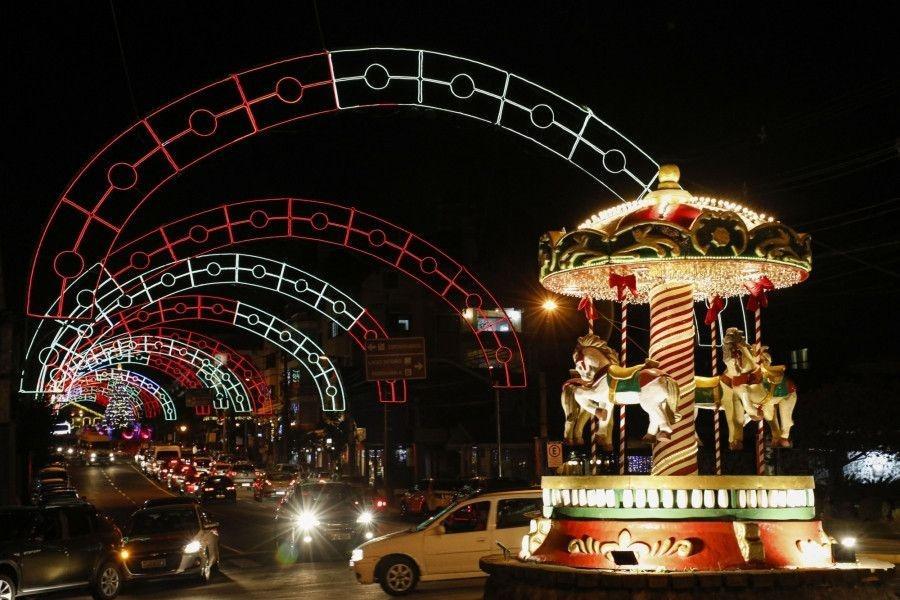 Acendimento das luzes do Natal Luz terá novo horário