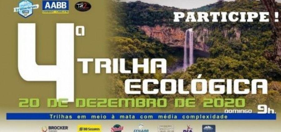 """Caminhada ecológica """"Caminho da Cascata"""" – 20/12 – Ainda há tempo para inscrições."""