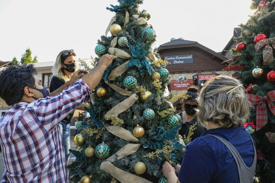 Tannenbaumfest seguirá até o final do Natal Luz
