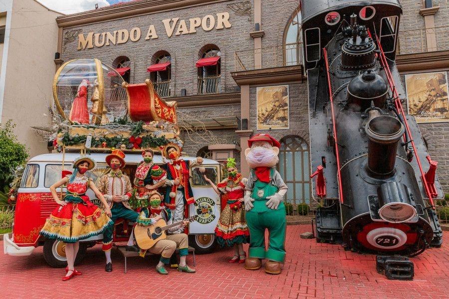 Últimos dias para curtir a programação de Natal do Mundo a Vapor
