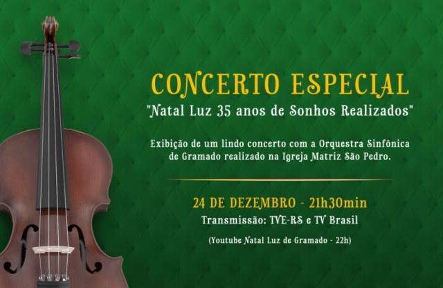 """Especial """"Natal Luz 35 anos de sonhos realizados"""" irá ao ar dia 24"""